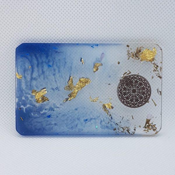 Orbital Star Orgone Orgonite Card 1