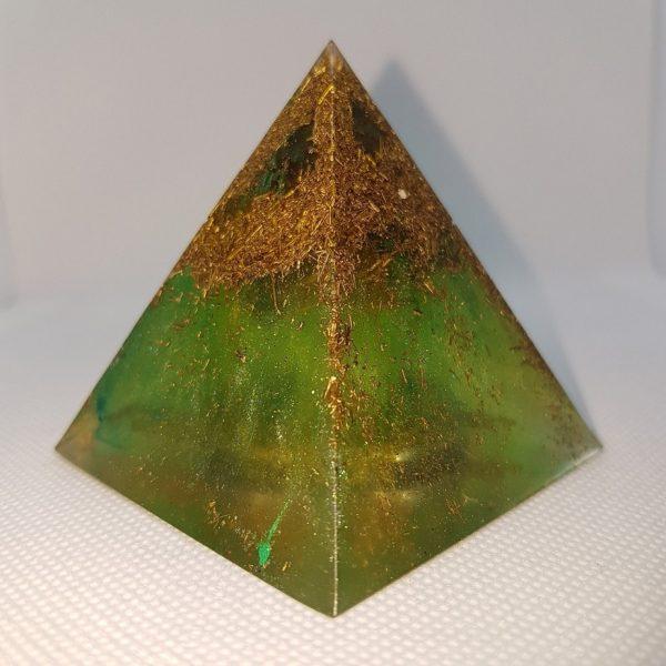 StarGate Orgone Orgonite Pyramid 6cm