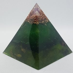 Tree of Life Orgone Orgonite Pyramid 6cm