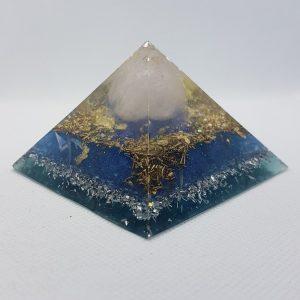 Arctic Blue Pyramid 7cm Giza