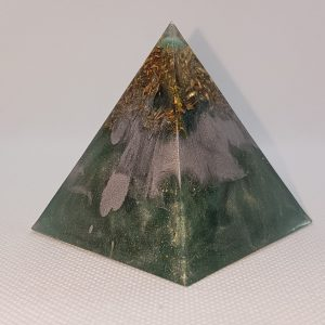 Warm Embrace Orgone Orgonite Pyramid 6cm