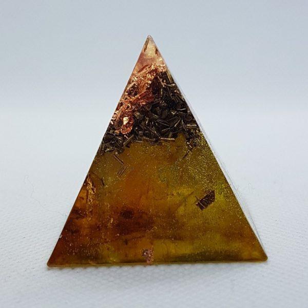 Rusted Mind Orgone Orgonite Pyramid 4cm 2