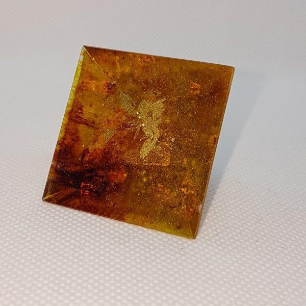 Rusted Mind Orgone Orgonite Pyramid 4cm 3