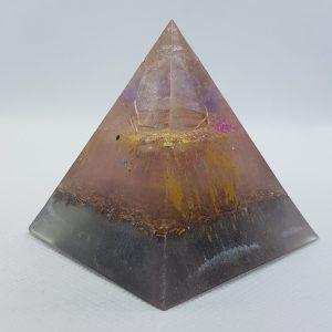 Mystical Worlds Orgone Orgonite Pyramid 6cm