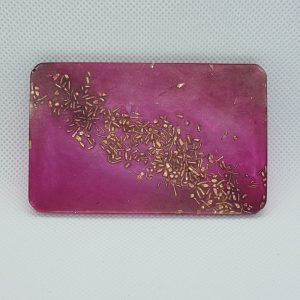 Magenta Fantasy OrgoneIt Orgonite Card