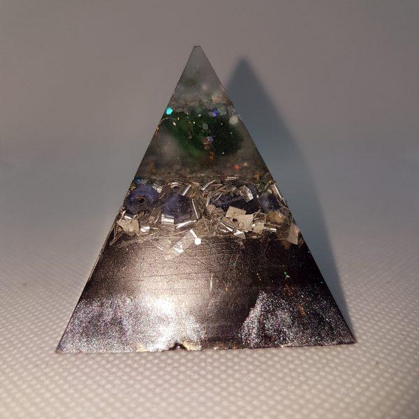 Always Positive Orgone Orgonite Pyramid 5cm 2