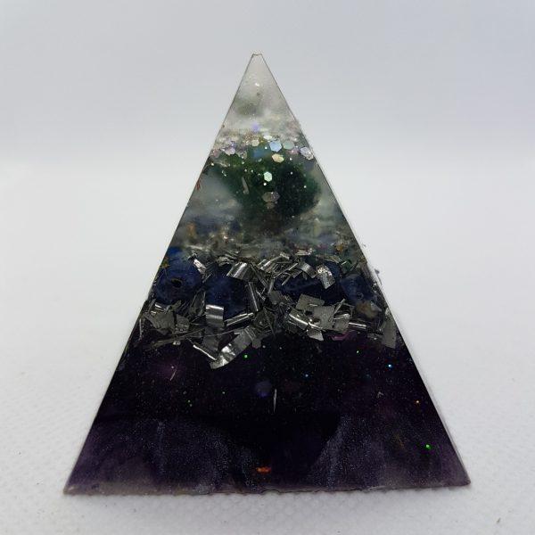 Always Positive Orgone Orgonite Pyramid 5cm 1