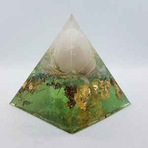 Mercury Rising Orgone Orgonite Pyramid 6cm