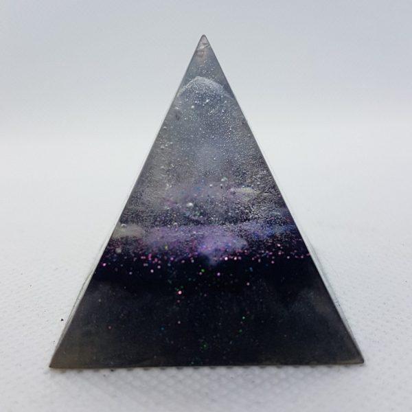 Beginning of Time Orgone Orgonite Pyramid 4cm 2