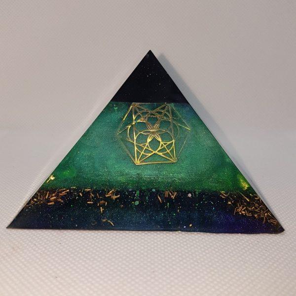 Transformation Orgonite Orgone Pyramid 9.5cm 1