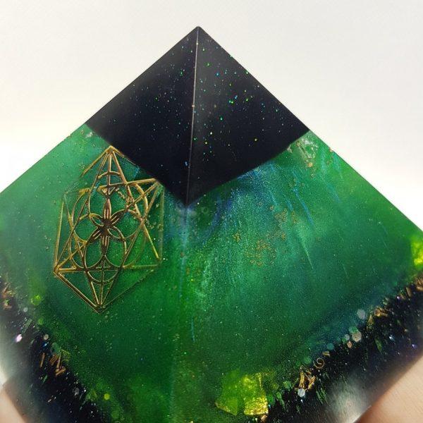 Transformation Orgonite Orgone Pyramid 9.5cm 2