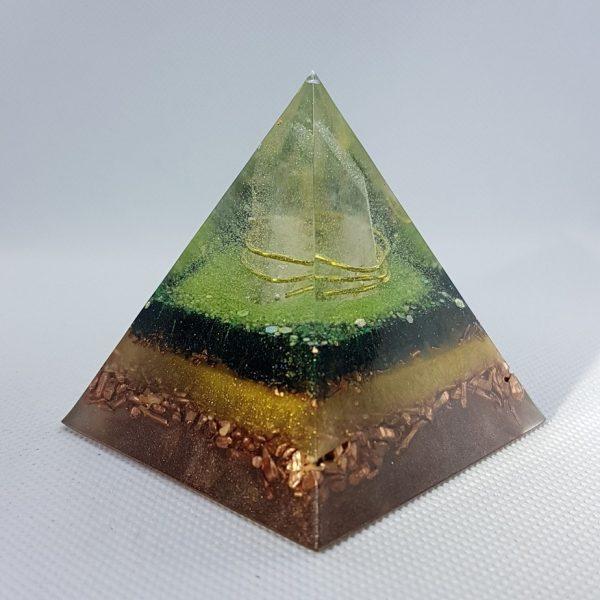 Thought Germination Orgone Orgonite Pyramid 6cm