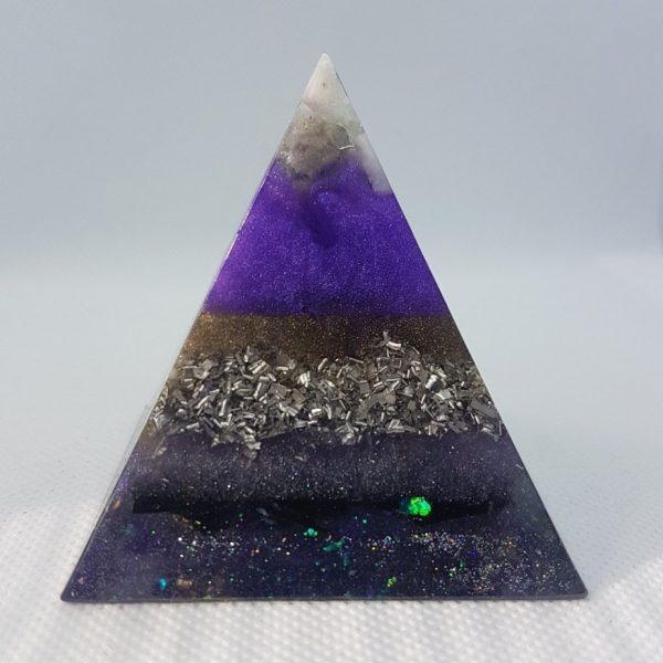Stellar Awakening Orgone Orgonite Pyramid 6cm 1