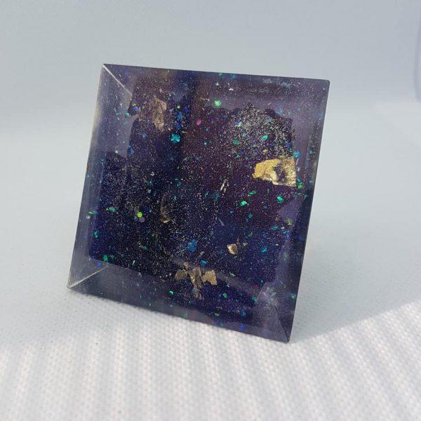 Stellar Awakening Orgone Orgonite Pyramid 6cm 2