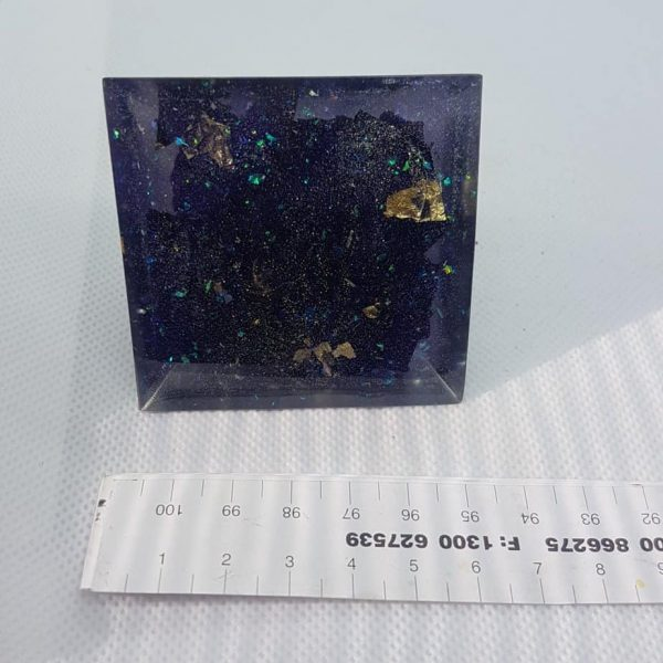 Stellar Awakening Orgone Orgonite Pyramid 6cm 3