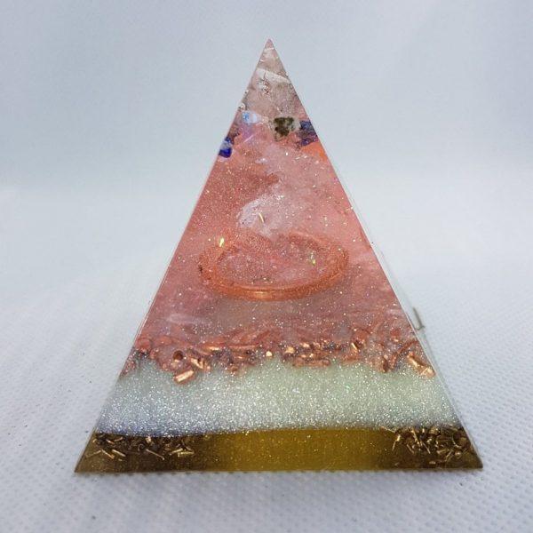 Danube Orgone Orgonite Pyramid 6cm 1