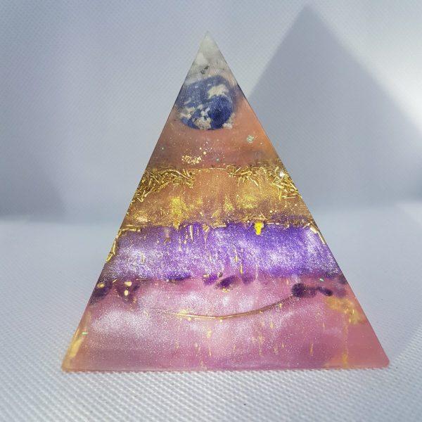 Unique Being Orgone Orgonite Pyramid 9cm 1