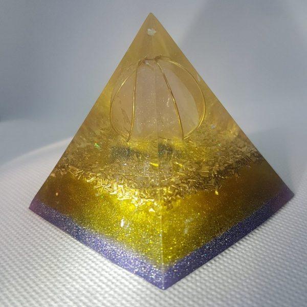 Dawn of Creation Orgone Orgonite Pyramid 6cm 2