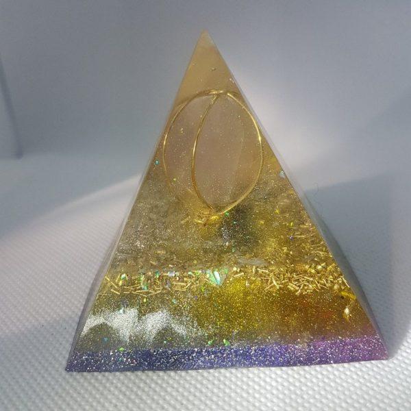Dawn of Creation Orgone Orgonite Pyramid 6cm 3