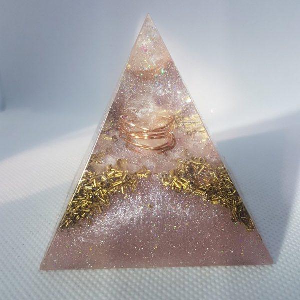 Persephone Orgone Orgonite Pyramid 6cm 1