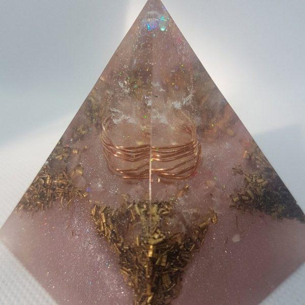 Persephone Orgone Orgonite Pyramid 6cm 2