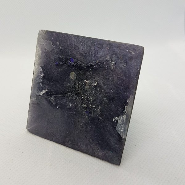 The Power in your Hand Orgone Orgonite Pyramid 6cm 3