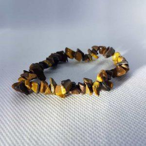Golden Tiger Eye Chip Bracelet
