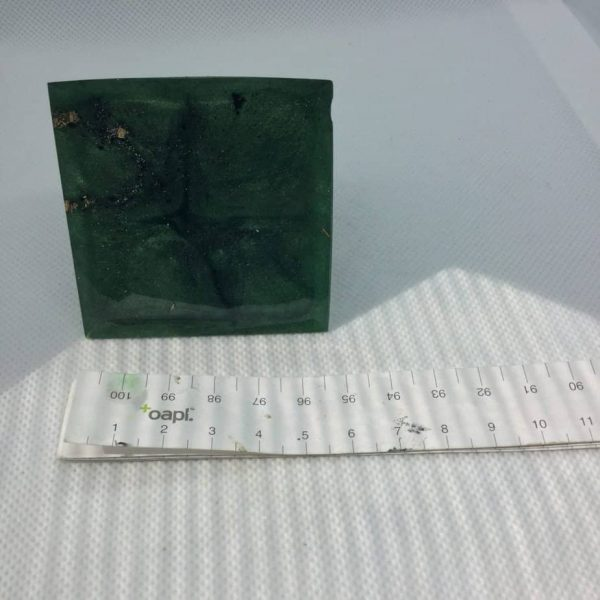 Jungle Clarity Orgone Orgonite Pyramid 6cm 3