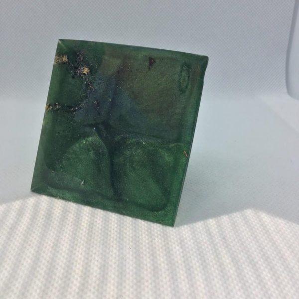 Jungle Clarity Orgone Orgonite Pyramid 6cm 2