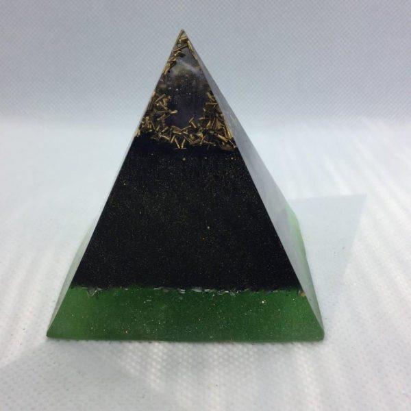 Light after Darkness Orgone Orgonite Pyramid 6cm 1