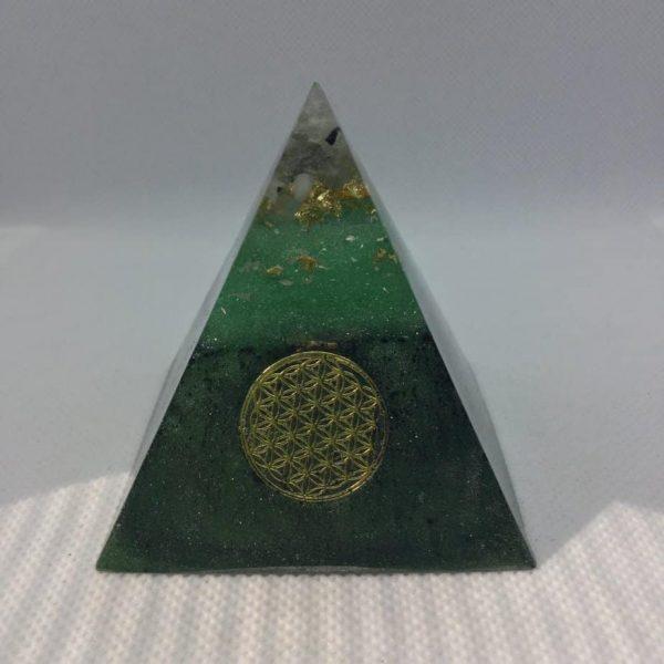 Jungle Clarity Orgone Orgonite Pyramid 6cm 1