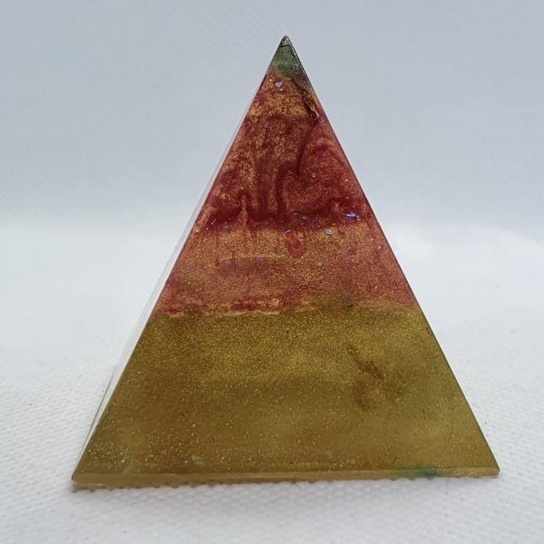 Martian Landings Orgone Orgonite Pyramid 5cm 3