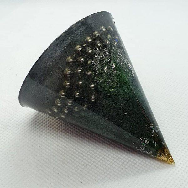 Spacial Reality Orgone Energy Orgonite Cone 6cm 1
