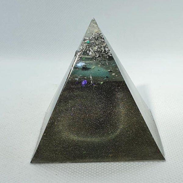 Full Circle Copper Orgonite Pyramid 6cm 1
