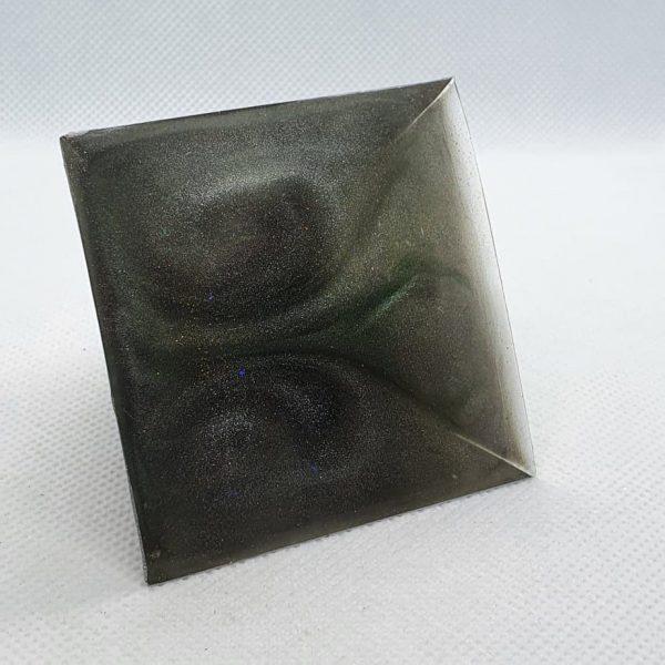 Full Circle Copper Orgonite Pyramid 6cm 4