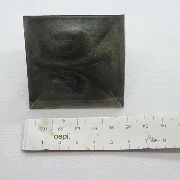 Full Circle Copper Orgonite Pyramid 6cm 5