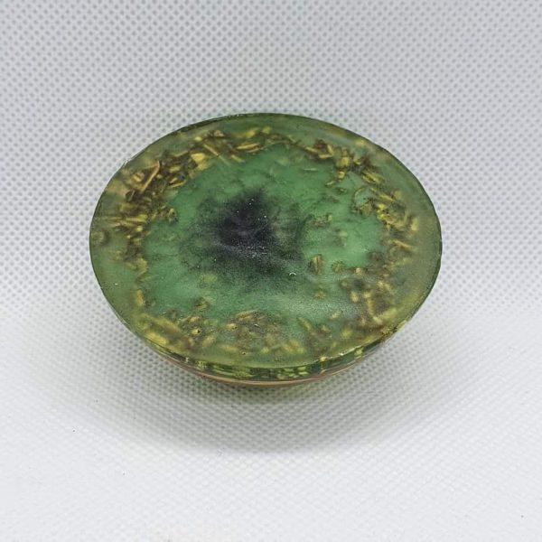 Green Lothlorien Orgone Orgonite Orb 2