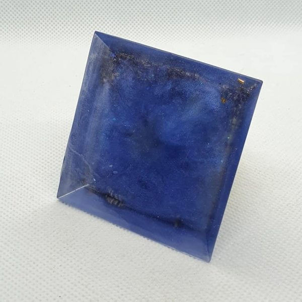Twinkle in your Eye Orgone Orgonite Pyramid 6cm 3