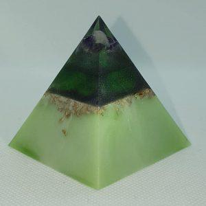 Permafrost Waterfall Orgone Orgonite Pyramid 6cm